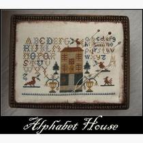 Nikyscreations Alphabet House