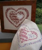 Coeur dans coeur bicolore R25