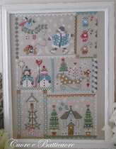 Cuore... Winter in quilt