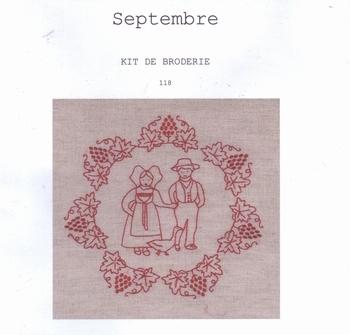 Kit Septembre Un Point c'est tout