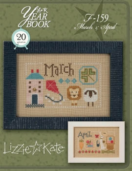 Lizzie Kate Year BookMarch/April