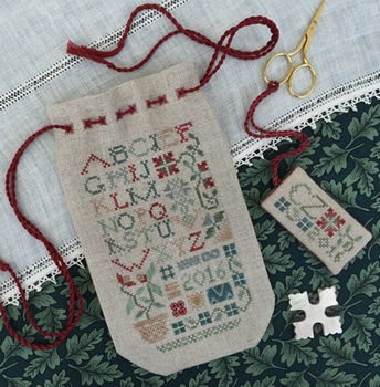 DT Sampler Sack, Pouch and scissors fob