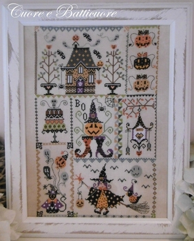 Cuore... Halloween in quilt  A l'unite