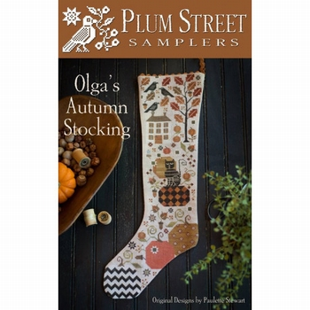Plum Street Samplers Olga's  Autumn Stocking