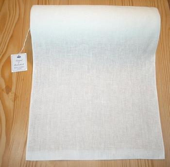 Bande à broder Vaupel 28 cm blanc cassé  par 50 cm