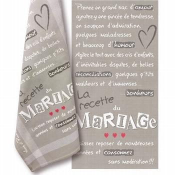 M017 Le torchon des mariés