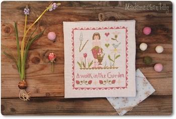 Mme Chantilly A walk in the Garden