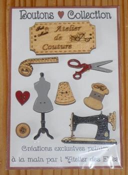 Boutons Atelier de Couture Atelier des Elfes