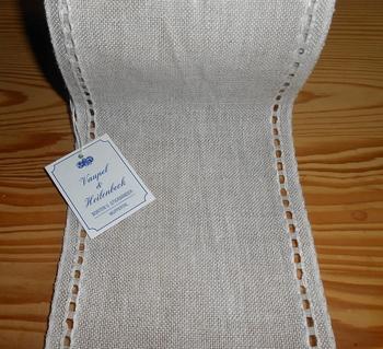 Bande à broder Vaupel Lisière Ajourée coloris Mix 12cm  par 50 cm
