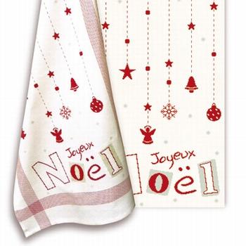 N036 Torchon Joyeux Noël