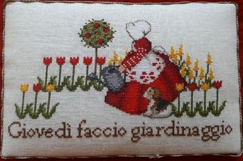 Serenita di Campagna Jeudi je fais du jardinnage CV92