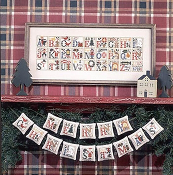 PS Christmas Alphabet Reimpression