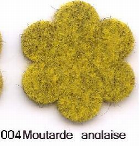 Feutrine Moutarde Anglaise CP004