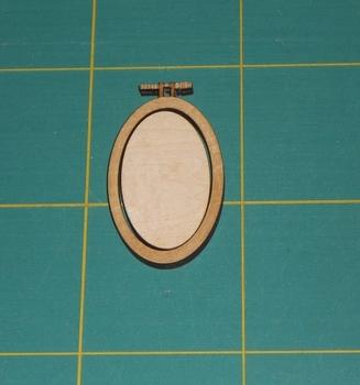 Mini Tambour ovale Atelier des Elfes