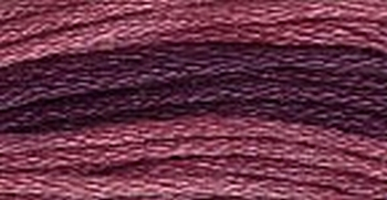 GA Sampler Threads Red Plum 0860