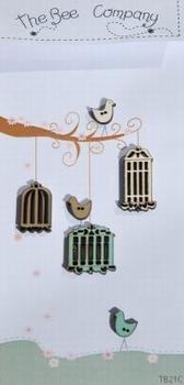 Cages et oiseaux Bee Cie TB21C