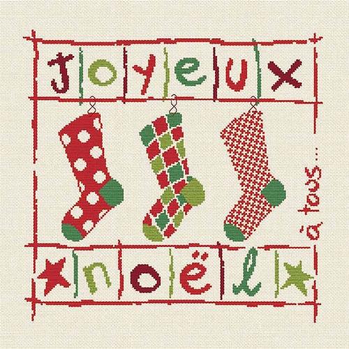 N019 Les chaussettes de Noël