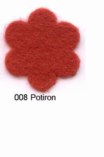 Feutrine Potiron CP008