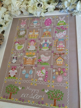 Cuore... Shabby Easter Calendar
