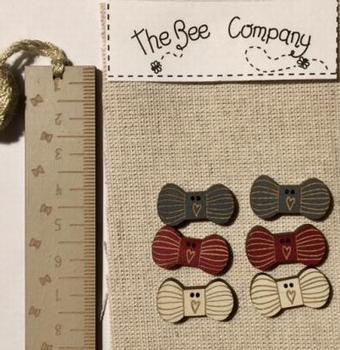Boutons Pelotes de laine BeeCie