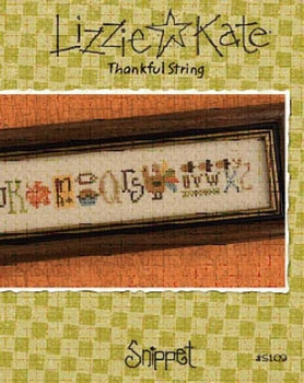Lizzie Kate Thankfull String  #s109