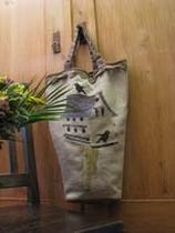Birdhouse Bag Thistles