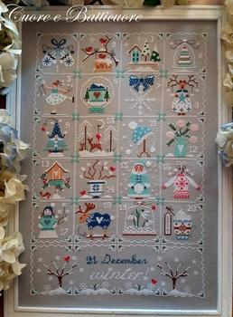 Cuore... Shabby Winter Calendar