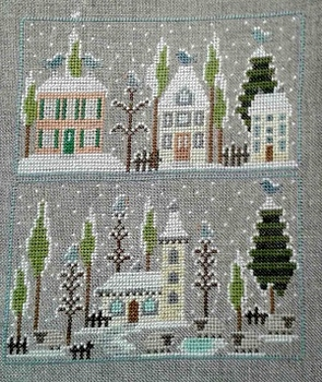 Maisons sous la neige 2 Paola Gattiblu