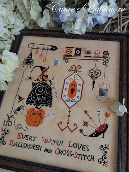 Cuore... Halloween and cross stich