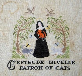 Sainte Gertrude Paola Gattiblu