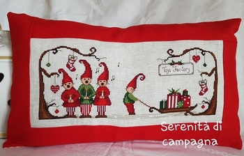 Serenita di Campagna Merry Christmas Village CV129