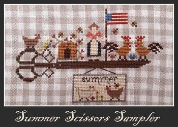 Nikyscreations Summer Scissors Sampler