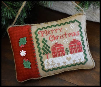 LHN Merry Christmas Pillow