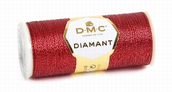 DMC Fil Diamant D321 Rouge