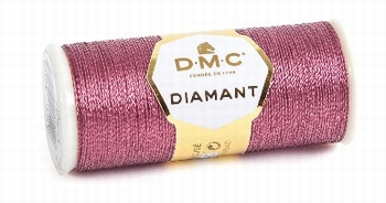DMC Fil Diamant D316 Rose