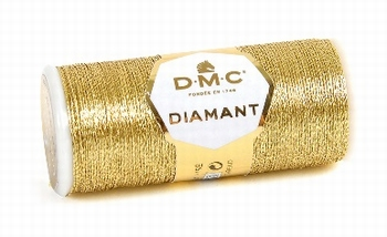 DMC Fil Diamant D3821 Doré Clair