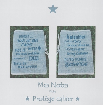Mes notes Protège Cahier AFDLY