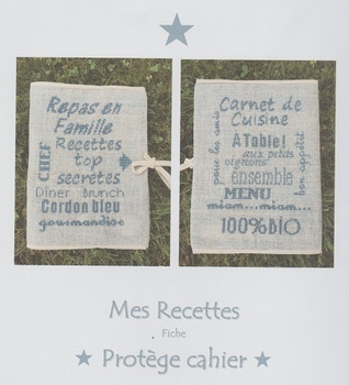 Mes recettes Protège Cahier AFDLY
