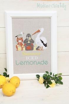 Mme Chantilly Summer Iced Lemonade