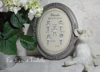 Petites Souris Danseuses, Le Lin d'Isabelle