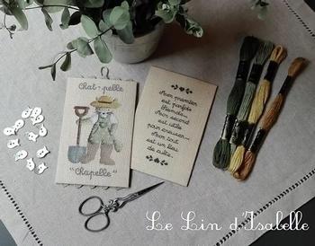 Chat-Pelle,Le Lin d'Isabelle