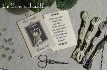 Chat-Mot, Le Lin d'Isabelle