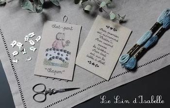 Chat-Pont,Le Lin d'Isabelle