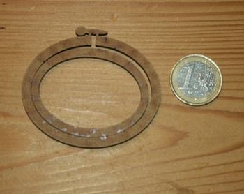 Mini Tambour Ovale Paysage Grand Modèle