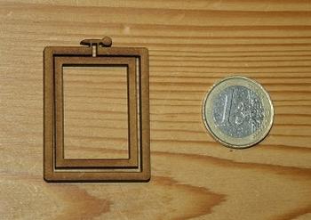 Mini Tambour Rectangulaire Portrait Moyen Modèle