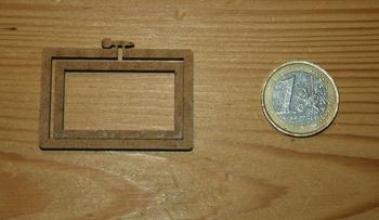 Mini Tambour Rectangulaire Paysage, Moyen Modèle
