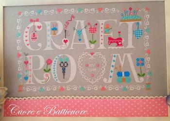 Cuore...Craft Room My Love