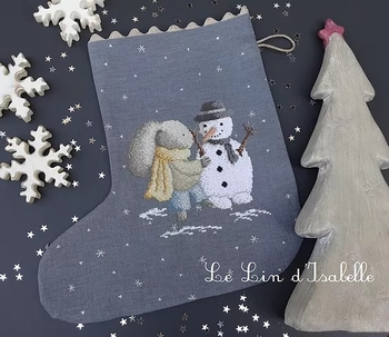 Botte de Noël Lapin et Bonhomme, Le Lin d'Isabelle