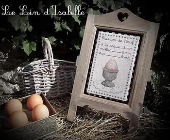 Cuisson de l'Oeuf, Le Lin d'Isabelle