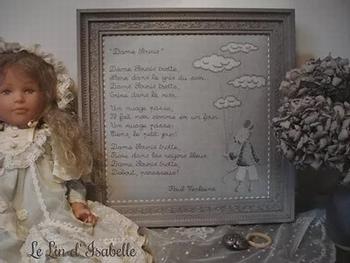 Dame Souris de Verlaine, Le Lin d'Isabelle